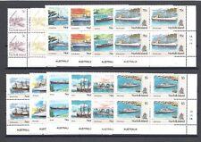 NORFOLK ISLANDS 1990-91 SG 483/94 MNH Blocks Cat £52