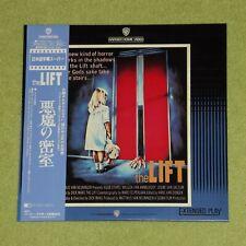 THE LIFT [1983/Horror] - RARE 1987 JAPAN LASERDISC + OBI (Cat No. NJL-11327)