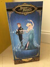 Fairytale Designer Collection Elsa and Hans Doll Set Limited Frozen Disney