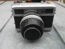 Werra Mat 35mm camera Lens Carl Zeiss Jena Tessar f2.8 50mm & Case