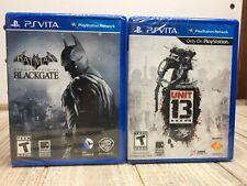 Batman Arkham Origins Blackgate & Unit 13 PlayStation Vita New Sealed