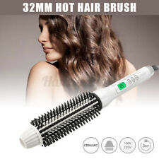 Electric Ceramic Hair Curling Wand Curler Iron Hot Air Brush Automatic  ~