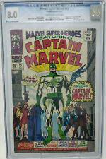 Marvel Super-Heroes #12 ~MARVEL 1967  CGC 8.0~ 1st Appearance of Captain Marvel