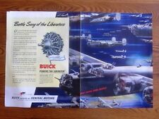 Liberator Bomber Armada Night Mission WWII Ad