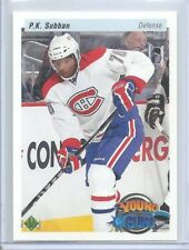 2010-11 UPPER DECK RC YOUNG GUNS RETRO PARALLEL P.K. SUBBAN # 231 HABS