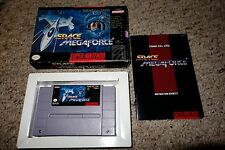 Space MegaForce (Super Nintendo Entertainment System SNES, 1994) Complete GOOD