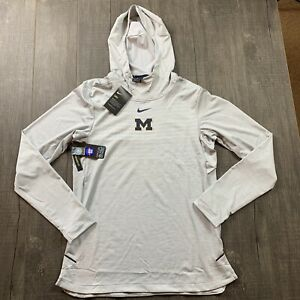 NWT Mens Nike Michigan Wolverines On-Field Football Hoodie Size Small $150 RARE