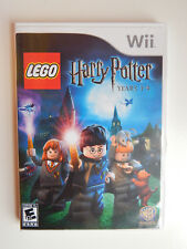 LEGO Harry Potter: Years 1-4 Game Complete! Nintendo Wii