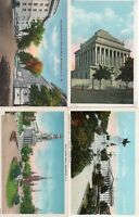 S2 ;  4 VINTAGE POSTCARDS ; VIEWS OF WASHINGTON DC . GOOD CONDITION