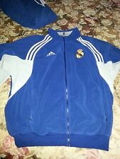 Authentic Adidas FC Real Madrid Velour Tracking Suit