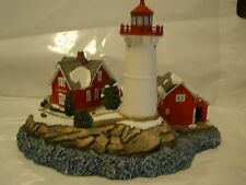 Harbour Light Christmas 2002 Crossover Island Ny New York Lighthouse #714 Coa
