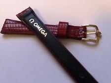 omega watch strap with original buckle genuine lizard brand new 🇨🇭
