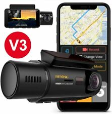 New listing Rexing V3 Dual Camera Front and Inside Cabin Infrared Night Vision Full Hd 1080p
