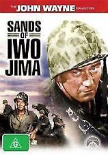 SANDS OF IWO JIMA - BRAND NEW & SEALED R4 DVD (JOHN WAYNE, JOHN AGAR) B&W