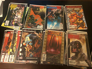 Ultimates Lot Ultimate Mini Series Hulk vs Wolverine Origins Extinction Vision