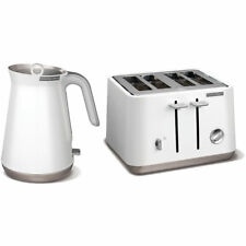 Morphy Richards Aspect Stainless Steel 1.5L Kettle & 4 Slice 1800W Toaster