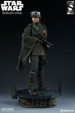 Sideshow Star Wars Jyn Erso EXCLUSIVE Rogue One Movie Figure Statue Collectible