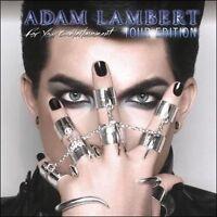 Adam Lambert - For Your Entertainment, Tour Edition, CD/DVD