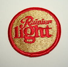Vintage Rainier Light Beer Distributor Cloth Patch 1980s NOS New