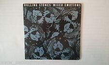 MAXI --ROLLING STONES --MIXED EMOTIONS--3  TRACKS CARDSLEEVE--