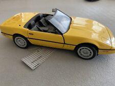 New ListingFranklin Mint 1986 Chevy Corvette Convertible 1:24 Scale Diecast Model Car