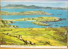 Irish Postcard DERRYNANE HARBOUR Coomakista Ring Kerry Ireland John Hinde 2/238