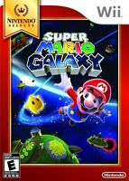 Super Mario Galaxy Nintendo Selects [Nintendo Wii, NTSC, Adventure] Brand New