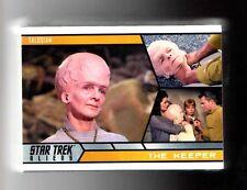 Star Trek Aliens complete 100 card Base set and PROMO P1+WRAPER
