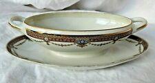Saucière en porcelaine ancienne vers 1900