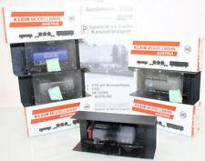 M+D H0 060 Kesselwagen-Set 4tlg. der DB neuwertig in OVP GL120