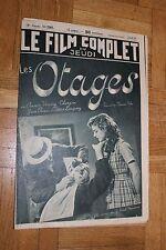 Le film complet du jeudi - N°2307 - Les otages - 1939