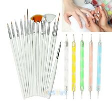 New 20pcs Nail Art Design Set Painting Drawing Polish Brush Decoration Pen Tools