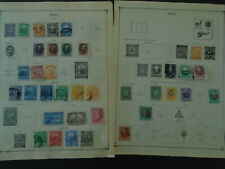 PERU COLLECTION ON PAGES USED STAMPS