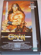 Conan der Zerstörer - VHS/Fantasy-Action/Arnold Schwarzenegger/Grace Jones/RCA