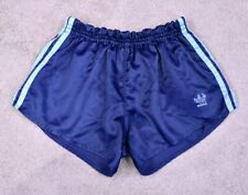 ADIDAS VINTAGE NYLON SHINY FOOTBALL RUNNING RETRO 80s 70s SHORTS SPRINTER D5 S