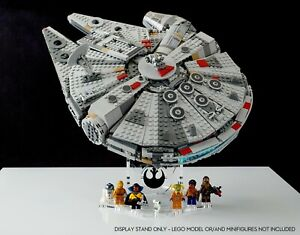 Display stand angled BK-(36°) for Lego 75257-75212-75105-4504 Millennium Falcon