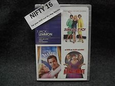 Jack Lemmon The Apartment, Avanti!, Some Like it Hot Dvd Brand New