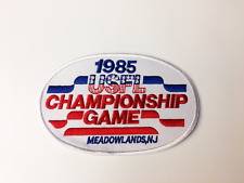USFL 1985 Championship Patch Meadowlands Oakland Invaders Baltimore Stars