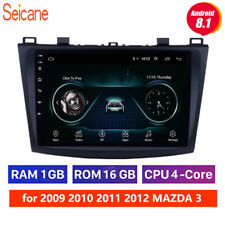 9 inch Android 9.1 Car Radio with GPS WIFI USB for 2009 2010 2011 2012 MAZDA 3