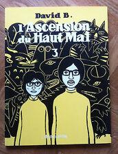 L'ASCENSION DU HAUT MAL 3 DAVID B. ED L'ASSOCIATION  EO PROCHE DU NEUF (D14)