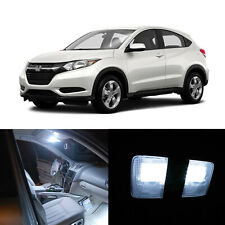 For Honda HRV HR-V 2016-2019 6000K White Interior LED Map Dome Bulbs Package Kit