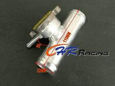 "Aluminum Radiator Tuck In Line Remote CNC Billet Fill Filler Neck 32 mm 1.25"" OD"