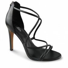 WITTNER BLACK CALF LEATHER HEELS SHOES SZ 40 ANNABELLE $199 EXCELLENT AS NEW