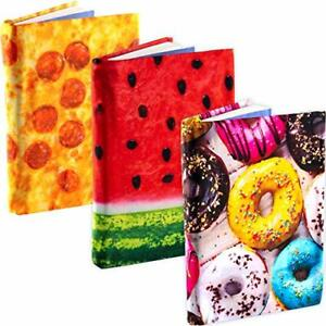 [3-Pack] Jumbo 9x11 Hardcover Textbook Stretchable Fabric Book Covers