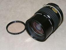 Nikon Nikkor 135mm f2.8 Telephoto Lens - Nikon AI-S Mount (Has Defect -See Desc)