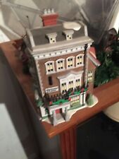 Dept 56 Dickens Village Crown And Cricket Inn 1St Ed 1992 Christmas Village