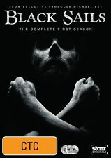 Black Sails : Season 1 (DVD, 2014, 3-Disc Set)