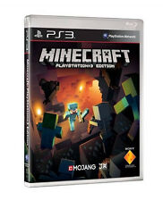 Minecraft PlayStation Edition PS3 UK - MINT -Super  FAST Delivery