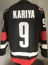 2002 Olympics Nike Paul Kariya Team Canada IIHF Black Alternate Hockey Jersey M