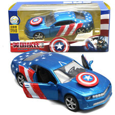 Marvel Captain America Civil War Diecast Car Pull Back Vehicle Sound Light Toy